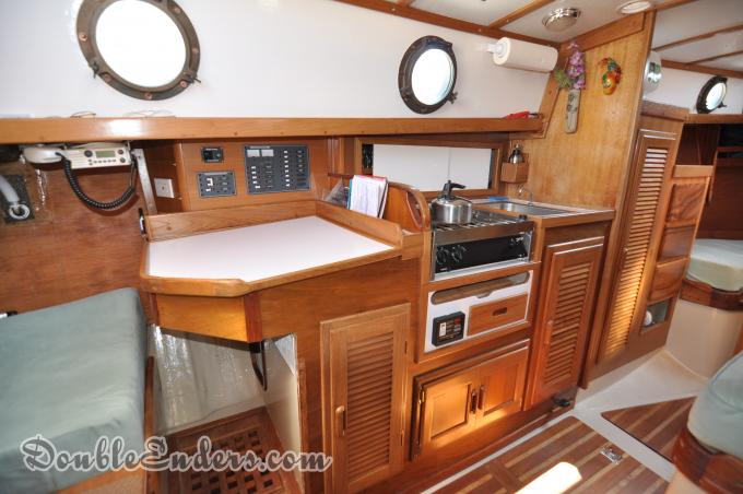 """Chartable and Galley Westsail 28 """"Starwhite"""""""