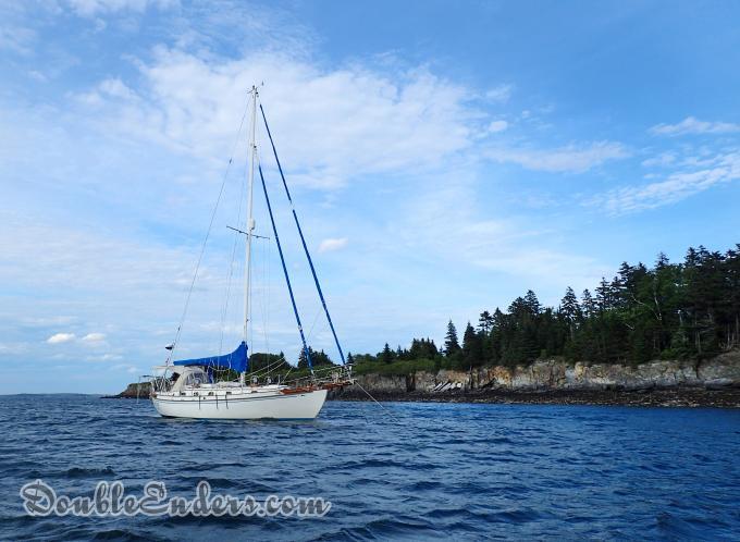 sailboat, Bear, Tayana 37, Maine