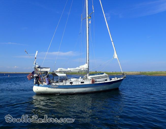 Valiant 40 sailboat Calypso