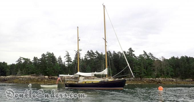 ketch, sailboat, rhodes design, wooden boat, sailing