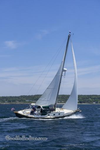 Sefa, a Vineyard Vixen 29 from Small Point, ME