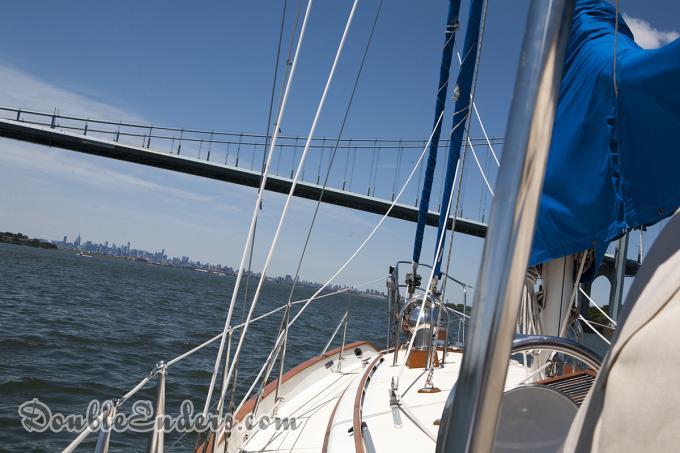 Bear, Tayana 37, sailboat, Verrazano Bridge