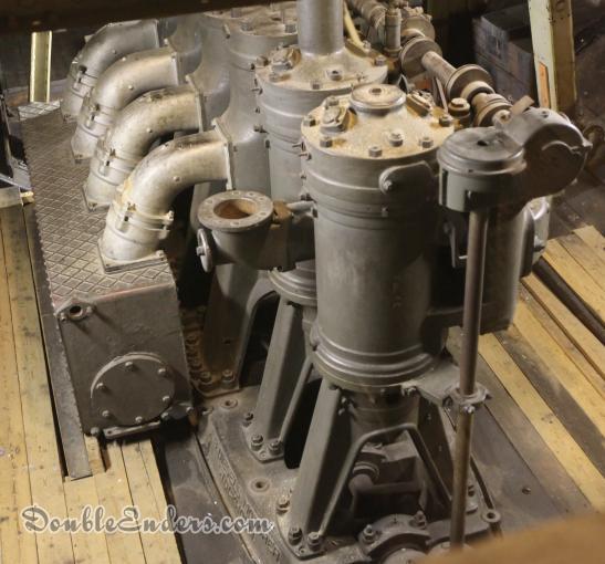 large older diesel engine