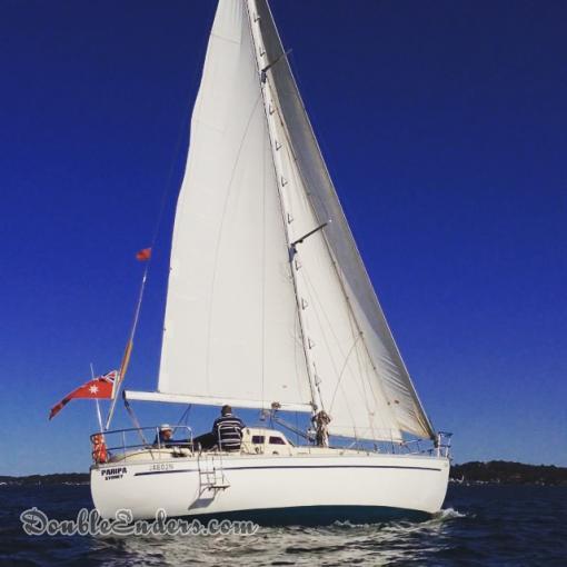 Paripa, a Swanson 38 from Sydney, Australia