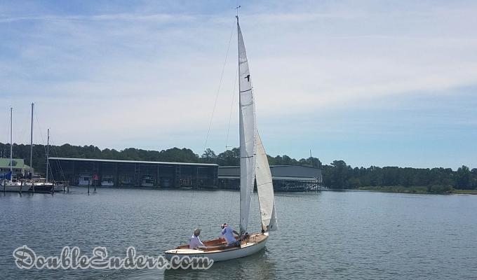 Tardis under sail in spring 2018