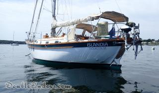 Islandia, a Southern Cross 31 from Thomaston, Maine