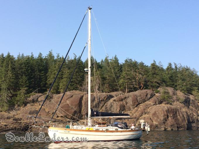 Sea Bear, a Union 36 from Campbell River, BC