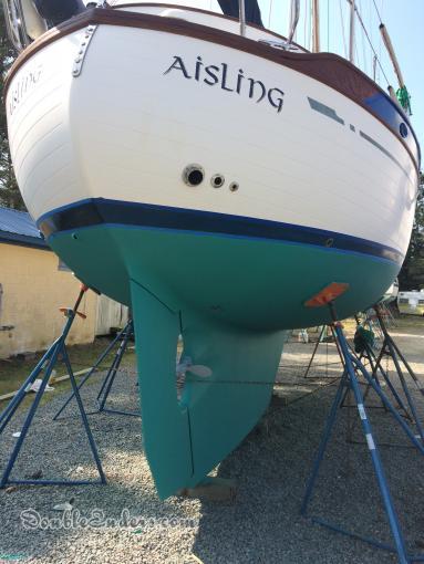 Aisling, a Tashiba 36 Pilothouse from Urbanna, Virginia