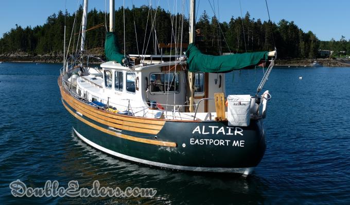 Altair, a Fisher 37 out of Eastport, Maine