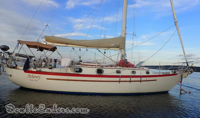 Athenry, a Pacific Seacraft 34 out of Wayne, Maine
