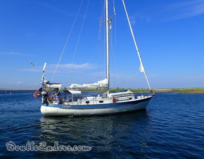 Valiant 40 sailboat Calypso
