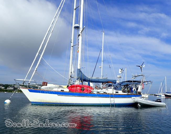 Celestial Melody, a Passport 42 sailboat from North Kingstown, RI