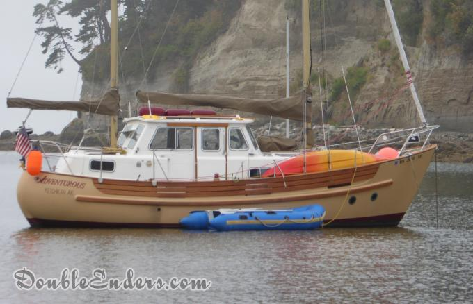 Adventurous, a Fisher 30 MS from Anacortes, Wa