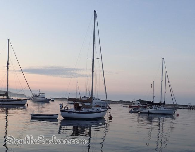 Encore sailboat Vineyard Vixen 34 Cuttyhunk, MA