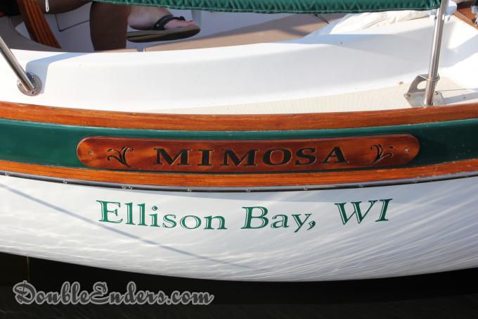 Mimosa, a Vineyard Vixen 34 from Ellison Bay, WI
