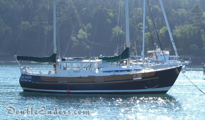 Altair, a Fisher 37 out of Eastport Maine