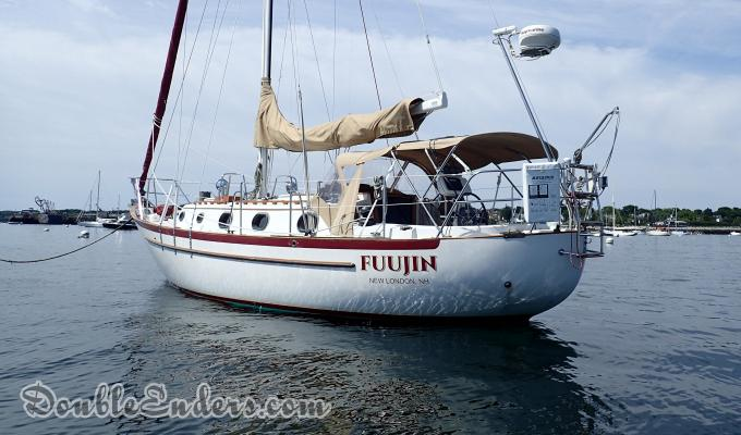 Fuujin, a Pacific Seacraft 34 from New London, NH