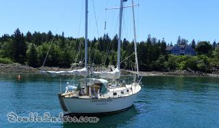 Gwynpennon, a Southern Cross 31 from Vinalhaven, ME